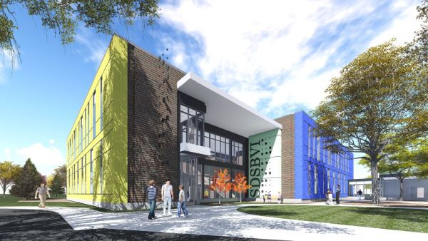 South Dakota School for the Blind and Visually Impaired architect's rendering