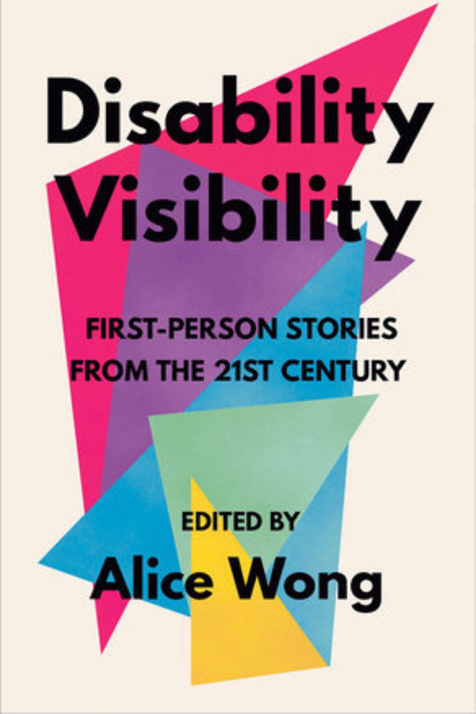 The book cover of Disability Visibility