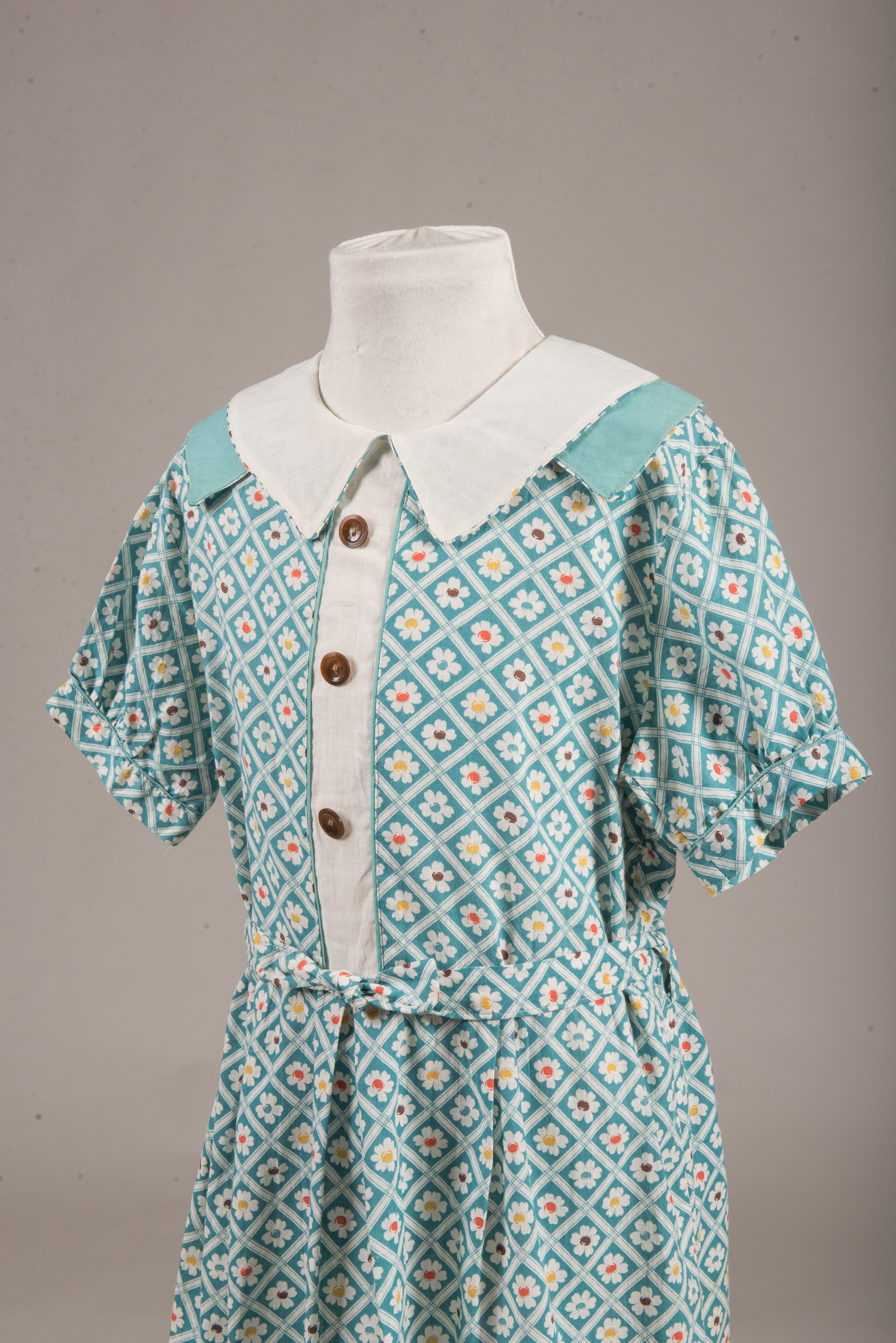 Dress from library exhibit