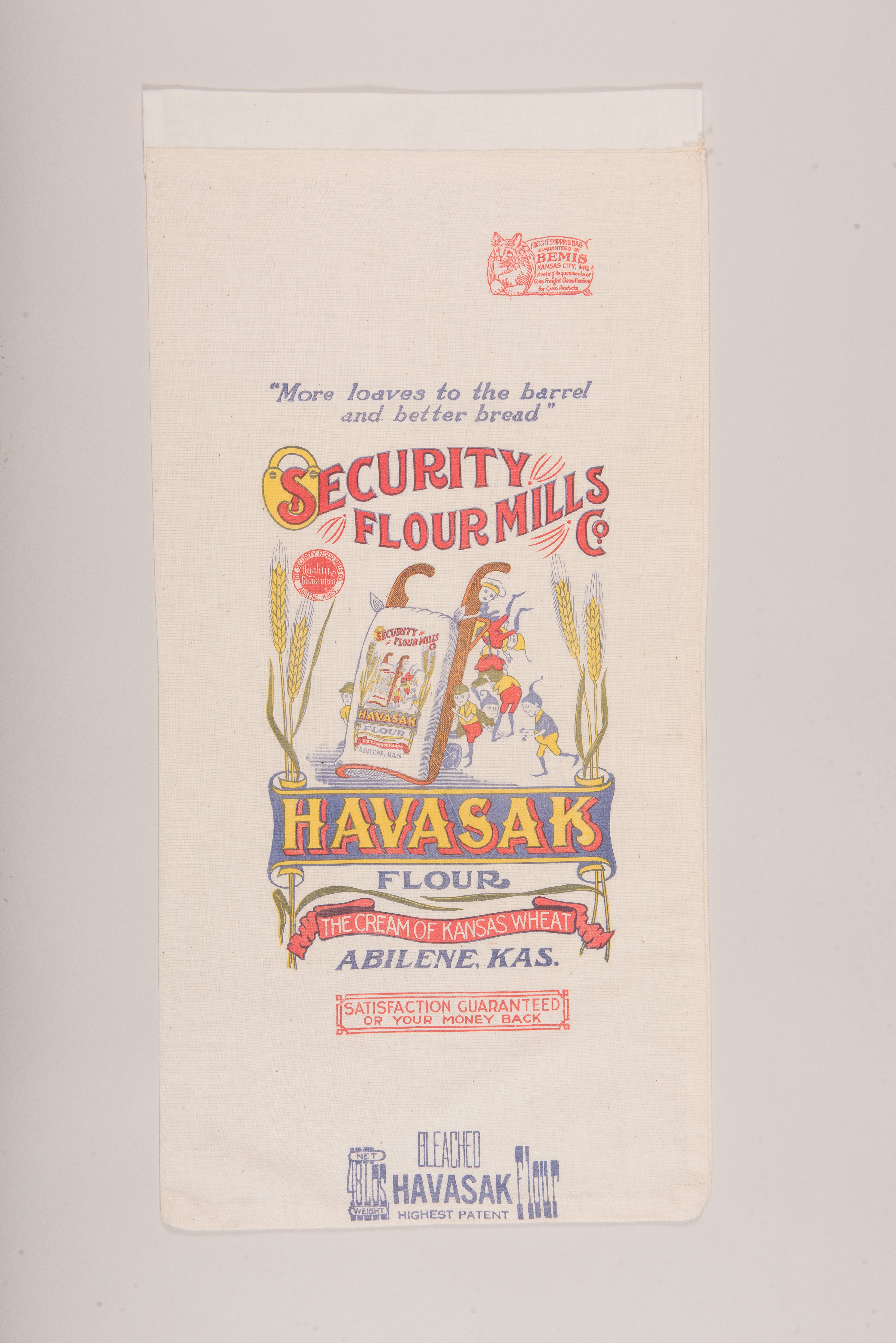 Flour from library exhibit