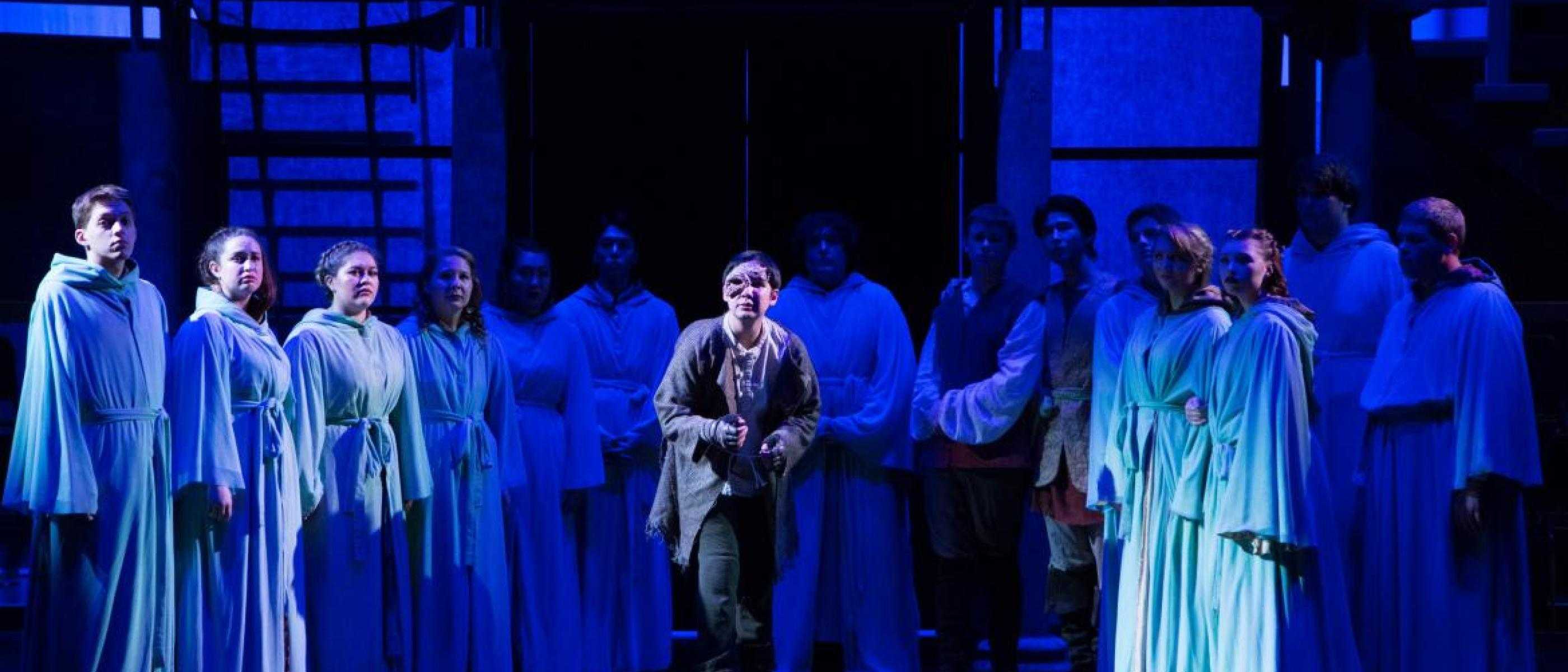 NSU theater performs Hunchback of Notre Dame