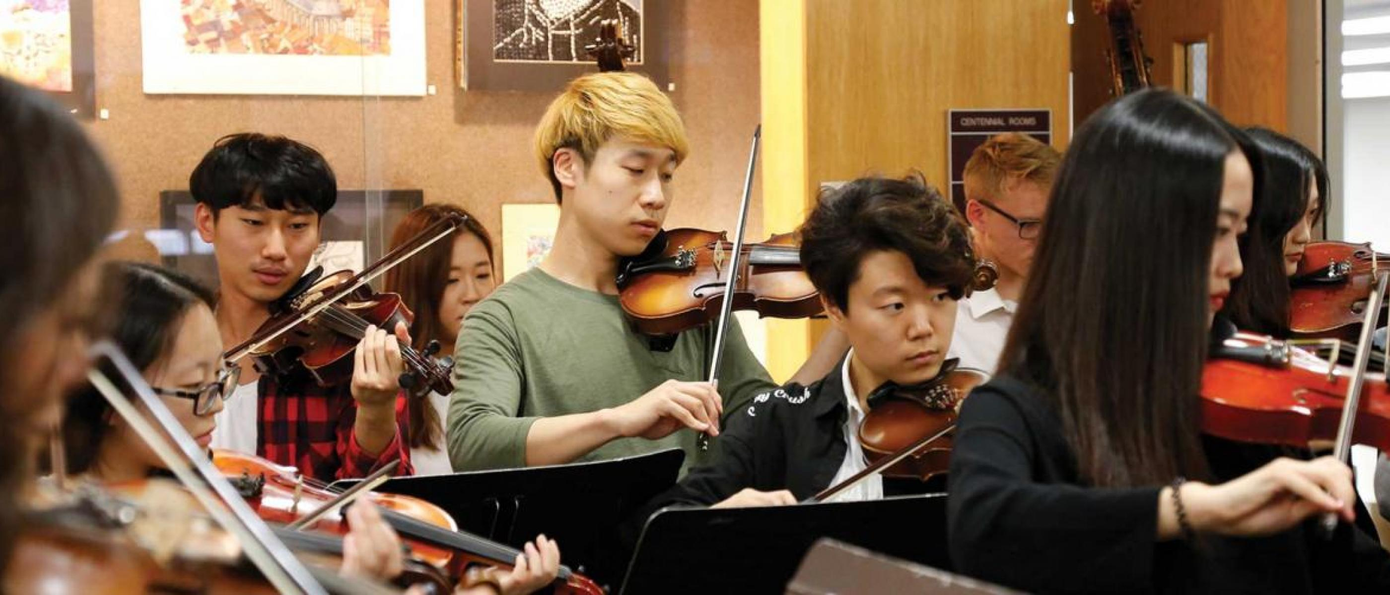 Orchestra Rehearsal