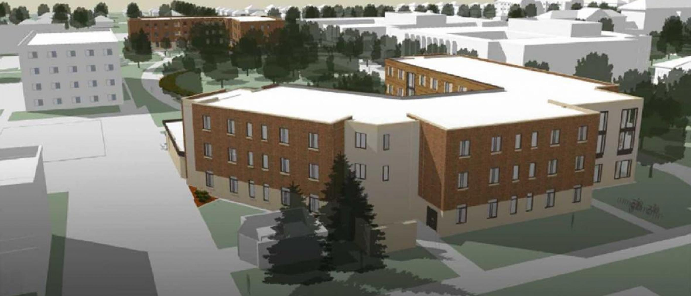 Two New Residence Halls