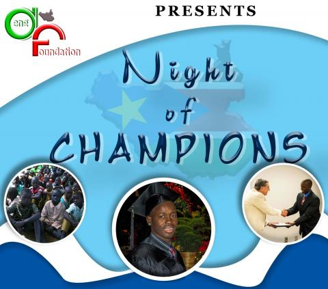 Deng Foundation Night of Champions Graphic