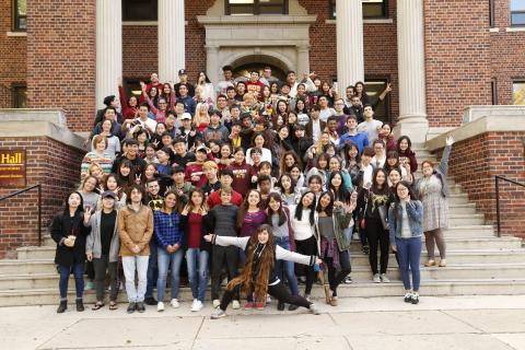 International students 2016