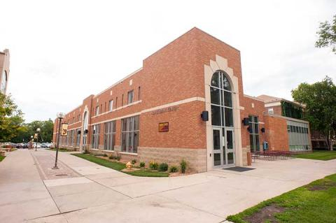 Outside view of the Student Center