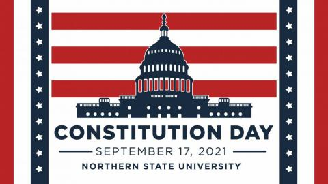 Constitution Day 2021 graphic - Sept. 17, 2021