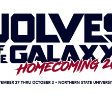 Wolves of the Galaxy Homecoming 2021 graphic