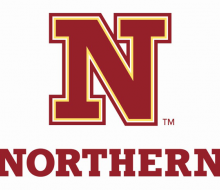 """Image of new Northern State University logo: """"N"""" over """"Northern"""""""