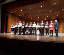 Student winners of 2020 NSU Young Artist Competition