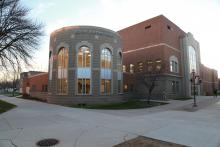 Exterior of NSU library