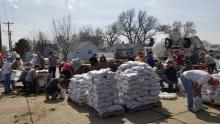 NSU students helping with flooding efforts