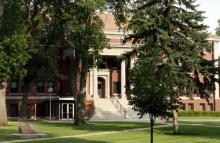 Outside of Lincoln Hall