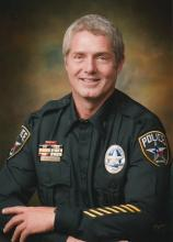 Male law enforcement officer photo