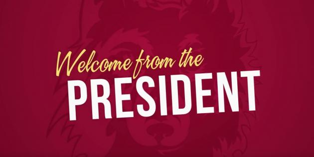 Welcome from the President