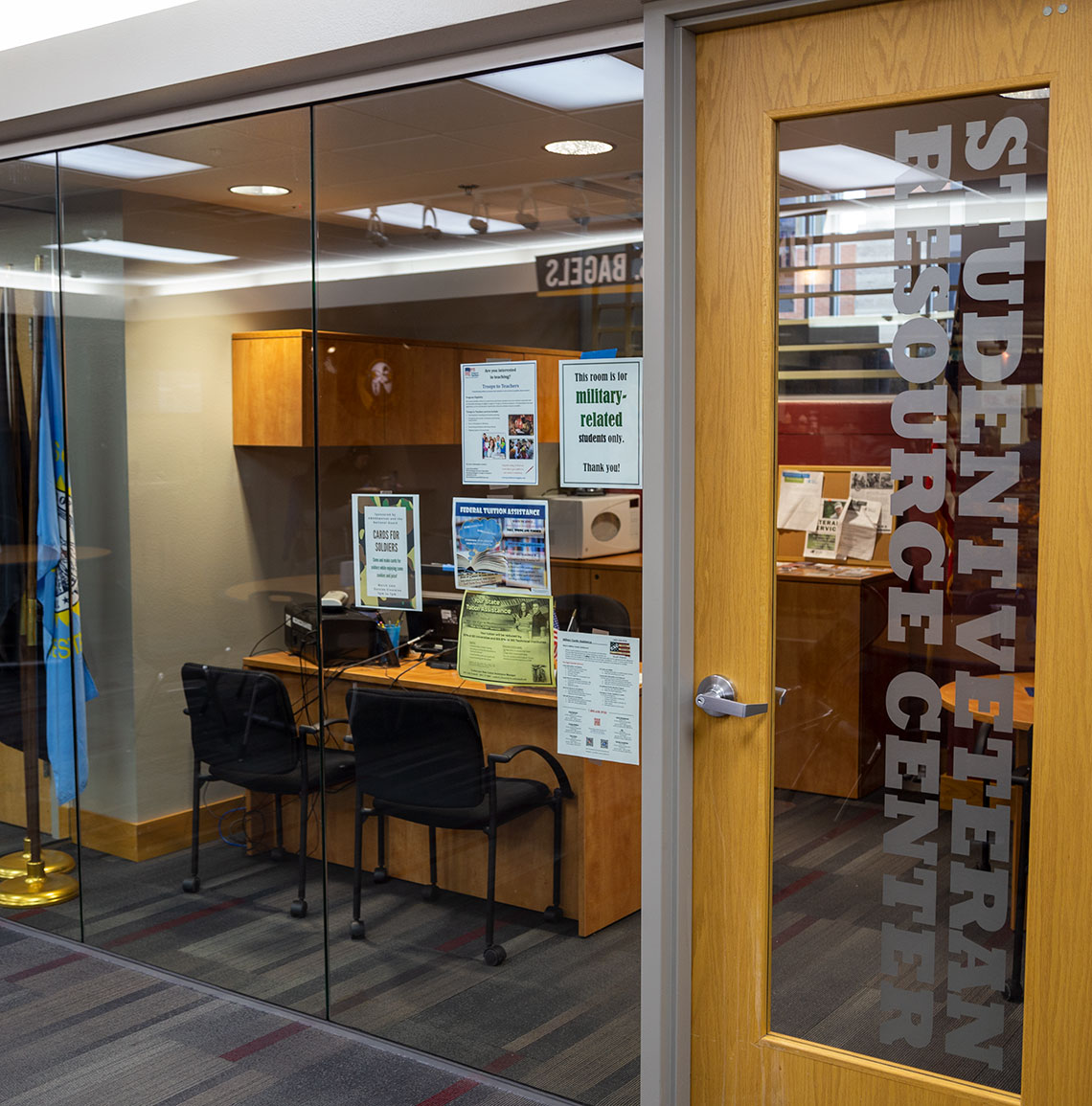 NSU Veterans' Resource Center: view from outside
